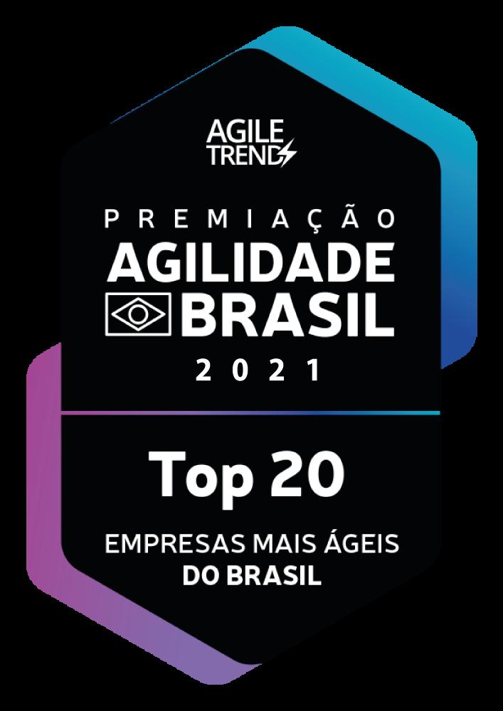 Selo Empresas mais ágeis do Brasil